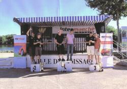 Rallye du chasselas podium 2013